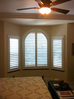 Installed Window Shutters